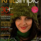 Vogue Knit Simple Fall 2007 Modular Fair Isle Sweaters Vest Bag Hat Mittens