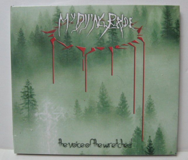 My Dying Bride The Voice Of The Wretched CD