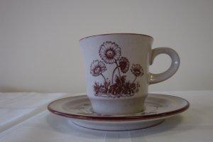 """Noritake Stoneware Japan """"Desert Flowers"""""""