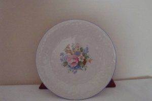 """Tabletops Unlimited """"Victorian Rose"""" salad plates(2)"""