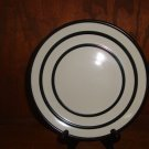 PFALTZGRAFF BLACK BANDS SALAD PLATE