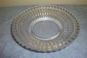 VINTAGE CLEAR GLASS BOWL- NUT MINT DISH