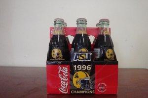 1996 PAC 10 CHAMPIONS ARIZONA STATE UNIVERSITY COCA COLA BOTTLE UNOPENED