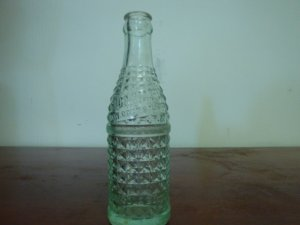 VINTAGE CHERO-COLA SODA WATER BOTTLE