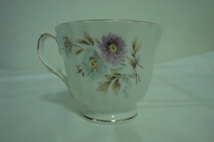DUCHESS BONE CHINA FOOTED CUP