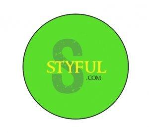 Green Styful Button
