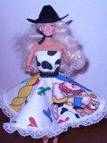 Barbie Doll Clothes Handmade Western Wear