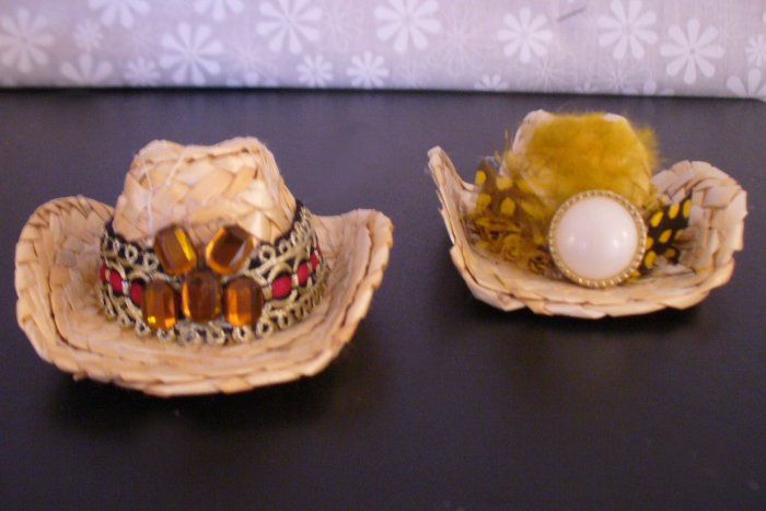 Ken  Doll Clothes Western Hats