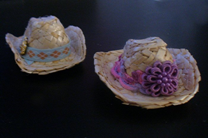 Barbie Doll Clothes Western Hats