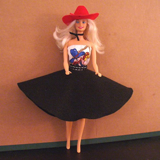 Barbie Doll Clothes Handmade Western Wear