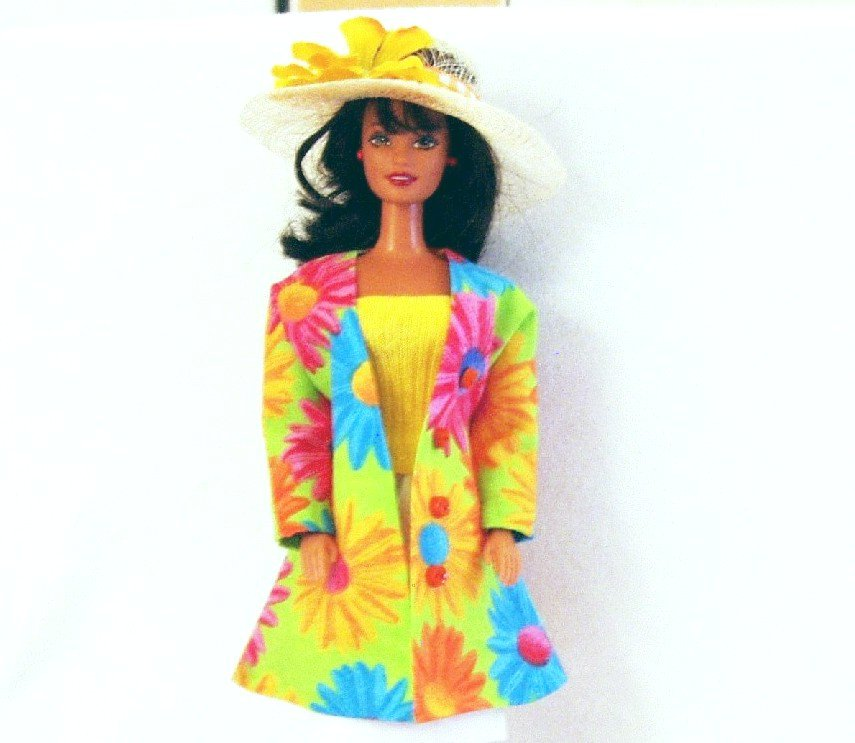 Barbie Doll Clothes Handmade Pant Suit