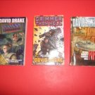 3 David Drake Science Fiction Paperbacks #DD29