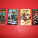 4 Timothy Zahn Science Fiction Fantasy Paperbacks #TZ88