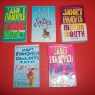 5 Janet Evanovich Romance, Suspense Mystery Fict. #JE90
