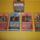 4 Zane Grey Full Length Features VHS Box Set  #ZG16