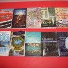 10 Mystery Fiction Various Famous Authors  PB's   #MF11