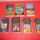 7 Elizabeth Peters Mystery Fiction Paperbacks  #EP17