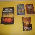 9 Martha Grimes Mystery Fiction   #MG312
