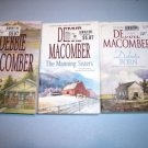 3 Debbie Macomber Romance Fiction Paperbacks #DM14