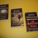 3 John Grisham Legal Thriller #JG12