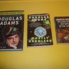 3 Douglas Adams Science Fiction Fantasy  #DA42
