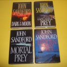 4 John Sandford Mystery Thriller Suspense Fiction #JS16