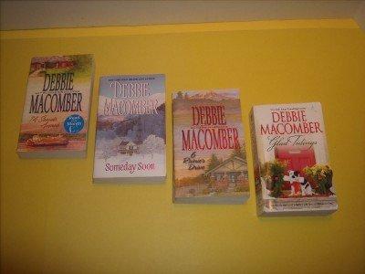 4 Debbie Macomber Romance Fiction                 #DM45