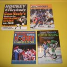 4 Hockey Instructional How - To  Paperbacks      #HI331