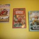 3 Brian Jacques Juvenile Fantasy Fiction  #BJ52