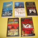 5 John Sandford Mystery Thriller Suspense Fiction #JS37