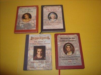 4 Dear America Historical Juvenile Fiction  #DA17