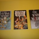 3 Five Minute Mysteries Juvenile Fiction  #FMM1
