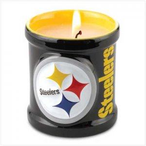 37313 PITTSBURGH STEELERS CANDLE