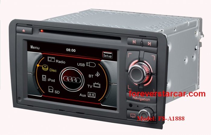 NEW Audi A3 Car DVD Player Video Radio GPS USB SD TV iPod