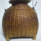 Thai  Style Big Creel Fishing Basket work
