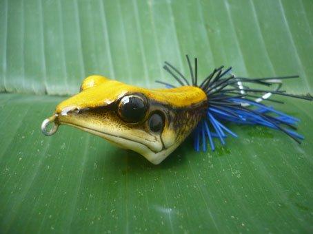 Handmade : V Frog TopWater Fishing Lure #LYC