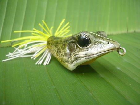 Handmade : V Frog TopWater Fishing Lure #MXC