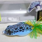 Handmade : Blue Poison FrogTopWater Fishing Lure #BPF