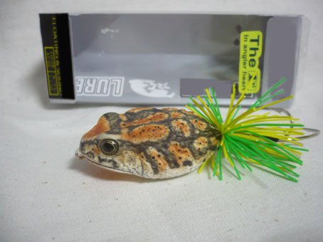 Handmade : America Toad Frog TopWater Fishing Lure #OR