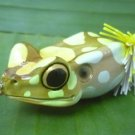 Handmade : X  Poison Frog TopWater  Wooden Lure #YBC