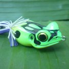 Handmade : X  Poison Frog TopWater  Wooden Lure #GBC