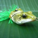 Handmade : Double Frog TopWater Fishing Frog Lure  #D-6
