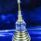 """Decorated Relics Pagoda / Relics container / Size : 8.25"""""""