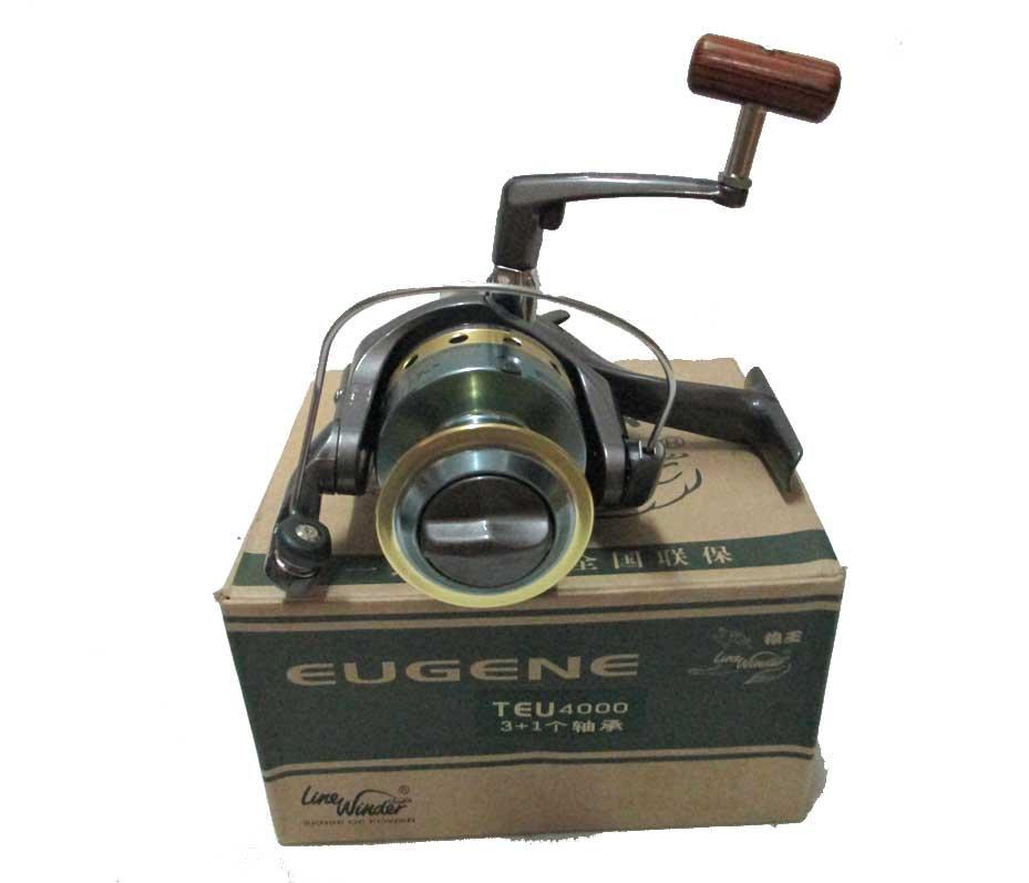 Line winder eugene 4000 spinning fishing reel for Fishing reel line winder