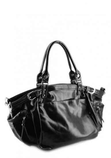 Black large tote handbag Black travel tote bag carryon