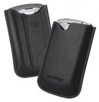 BlackBerry 8300 series leather pocket case