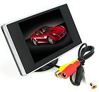 """3.5"""" TFT LCD Car Rear View Color Camera Monitor"""