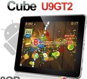 "9.7"" Cube U9GT2 Android 4.0 RK2918 1Ghz Tablet PC 8GB 1GB RAM Dual Camera Wifi"