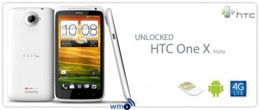 UNLOCKED HTC One X 4G LTE X325a WITH ONE YEAR WARRANTY