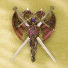 Sword & Dragon Coat-of-arms